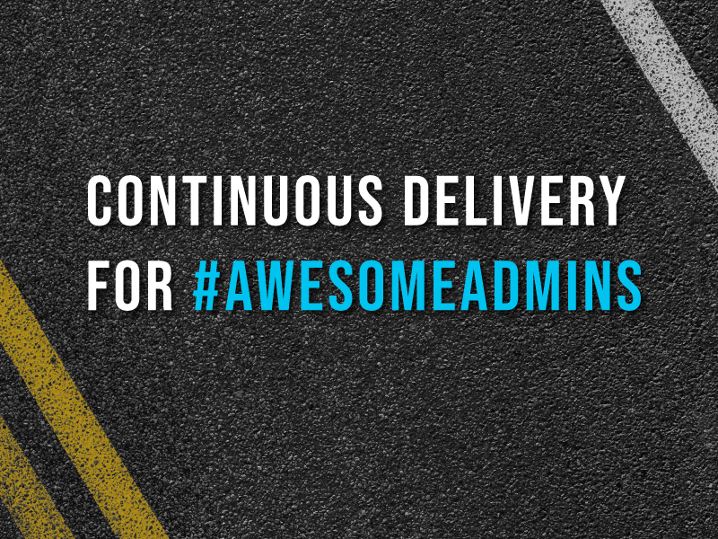 Copado Continuous Delivery for #AwesomeAdmins